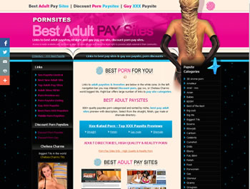 Links to the best adult paysites, xxx freesites, discount porn pay sites and gay pay xxx sites